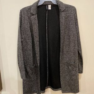 Divided lightweight casual soft blazer